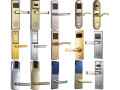 酒店锁宾馆锁感应锁磁卡锁电子锁公寓锁办公锁智能锁