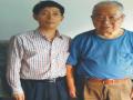 上海砺安智能科技公司总经理与收藏家艺术家陈邦仁先生在一起