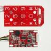 酒店智能锁电路板密码指纹电路板感应锁板
