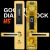 家用防盗门指纹密码锁13763328553