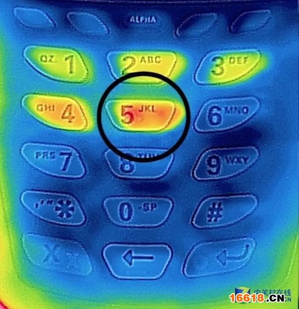 普通密码可以通过热感图像破解