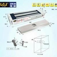 力士坚LCJ磁力锁MC500L单门明装型电控锁