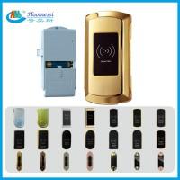 深圳电子更衣柜锁 金色刷卡桑拿柜锁 厂家直销智能感应柜锁