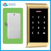 爆款触摸储物柜密码锁 家具数字密码锁 厂家直销金属密码锁