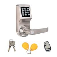 智能家居密码遥控锁 遥控电子锁 办公球形替换四合一密码锁