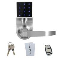 触屏密码遥控锁 多功能一体智能电子防盗锁