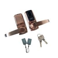 家用智能指纹锁 家居小型指纹锁 木门指纹门锁可刷卡