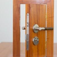 卧室静音房门锁